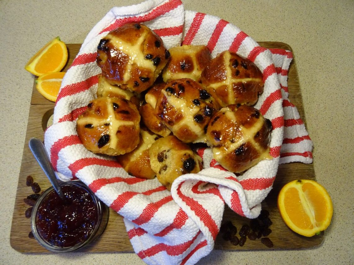 Vegan Hot Cross Buns Recipe