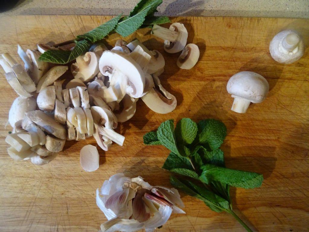 Vegan Tofu, Mushroom & Spinach Börek