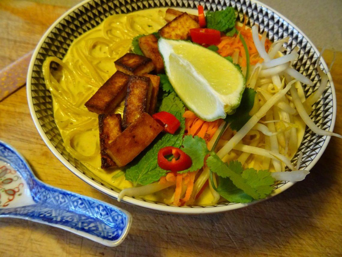 Vegan Malaysia Laksa Recipe