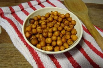 Curried Roasted Chickpeas Recipe