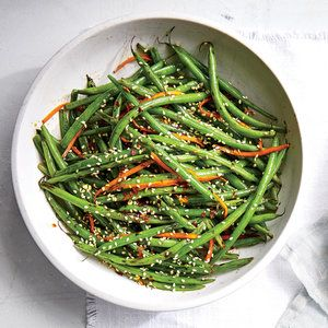 Green bean salad with sesame