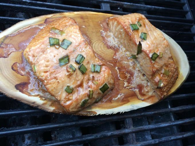 salmon done