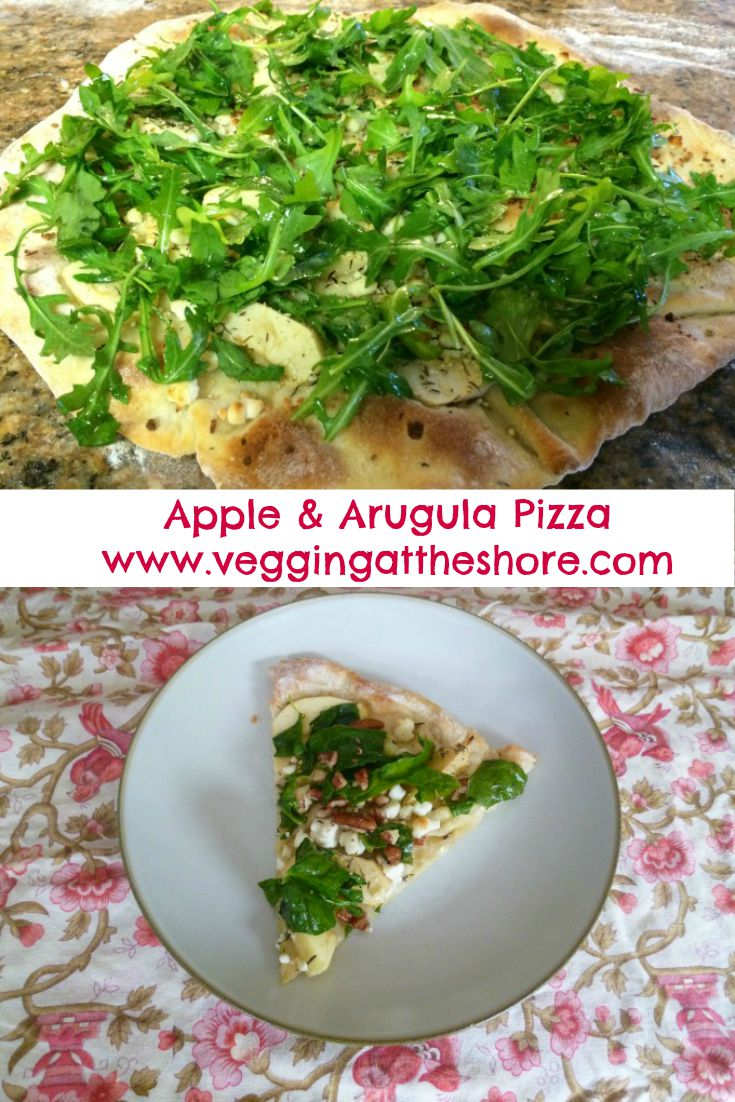 Apple & Arugula Pizza