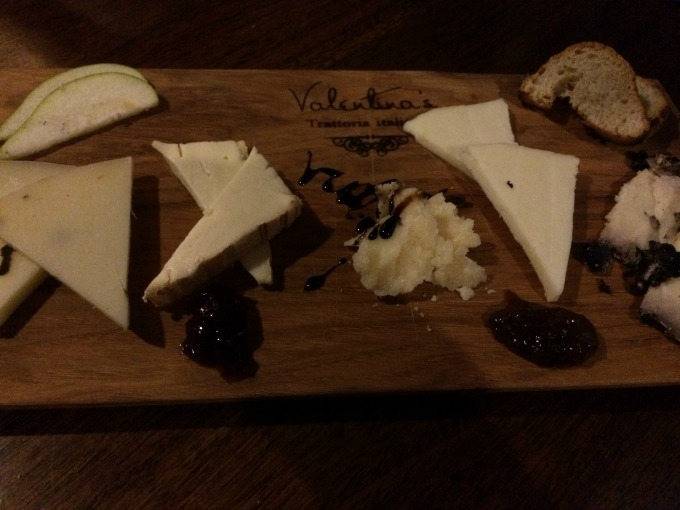 Valentina's Cheese Plate