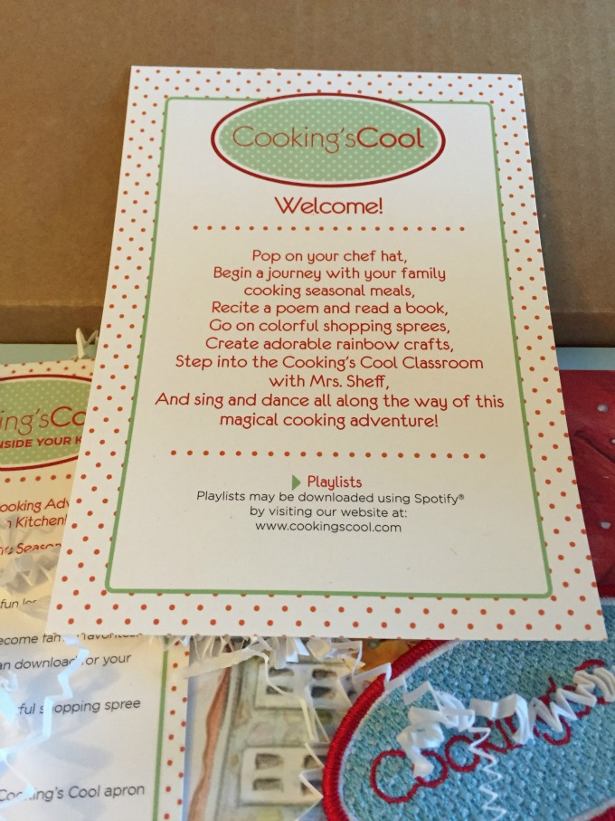 Welcome Cooking's Cool Box