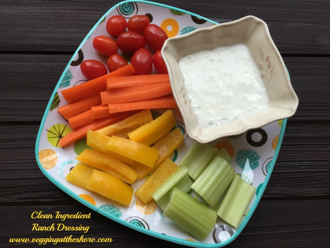 Clean Ingredient Ranch Dressing