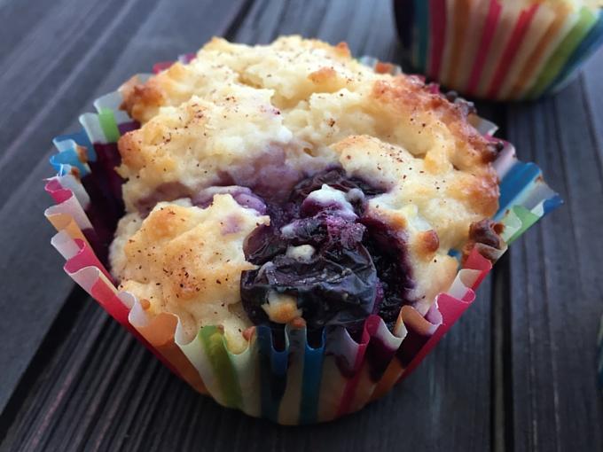 Sour cream muffins