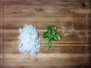 Green Onion Prep