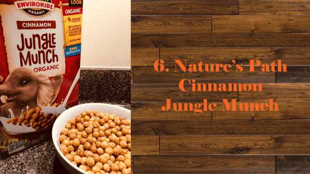 Nature's Path Cinnamon Jungle Munch
