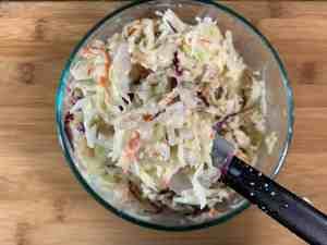 Vegan Coleslaw 3