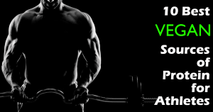 best vegan protein sources for athletes