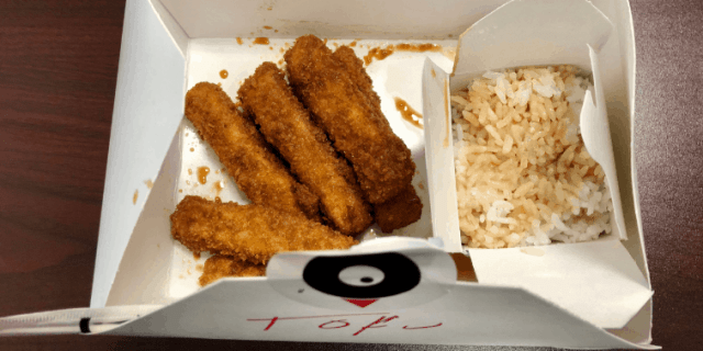 Tofu Tender Box from Ponko's