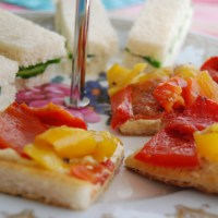 Simple Afternoon Tea Sandwich Ideas. Part 1 - Vegan MoFo