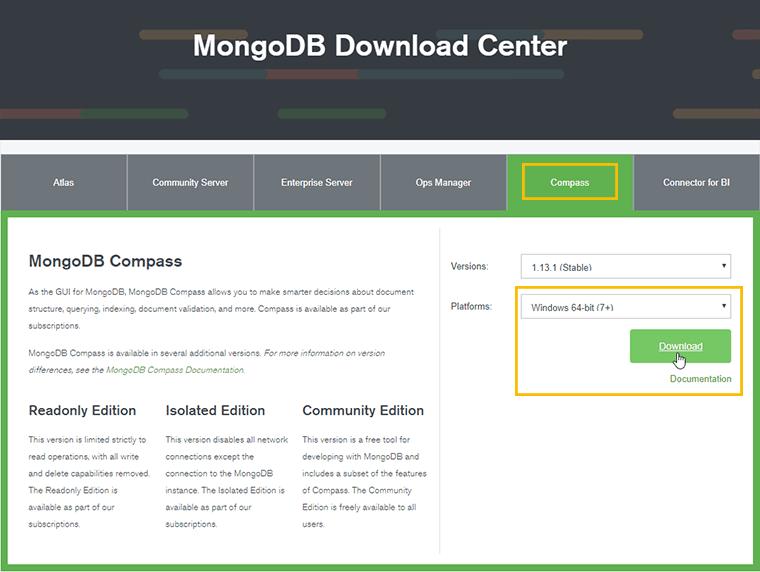 Install MongoDB With Compass On Windows – Vegibit