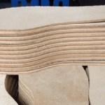 Vegtan leather footwear soles