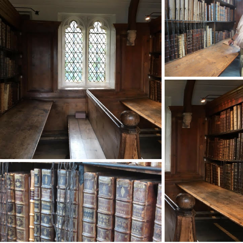The Chained Library in Wells Cathedral
