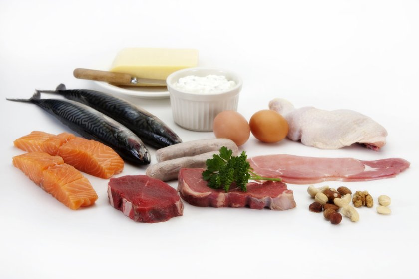 meat - only protein source?