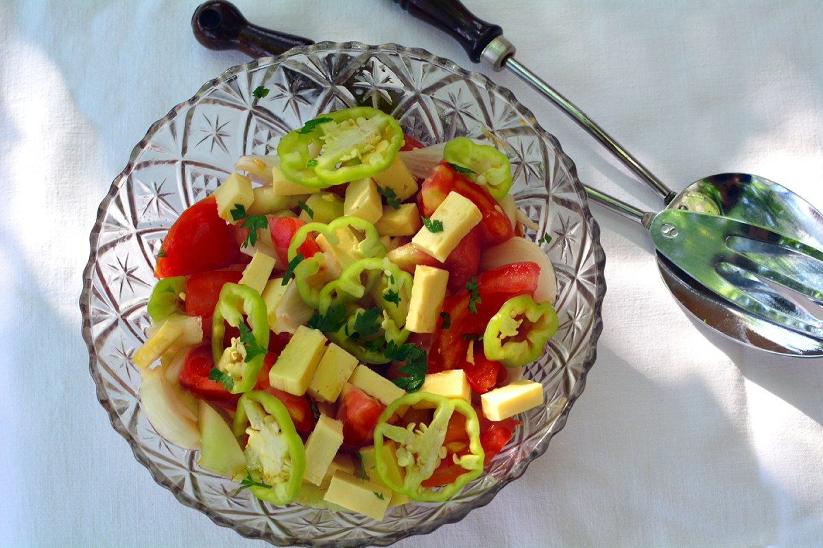 Fresh Summer Salad – Vegetarian Recipe