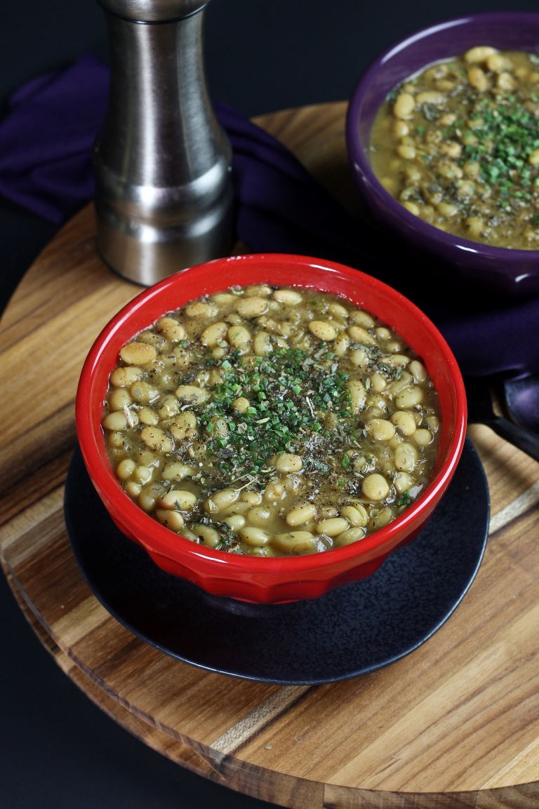 White Beans Chili Stew – Vegan Recipe