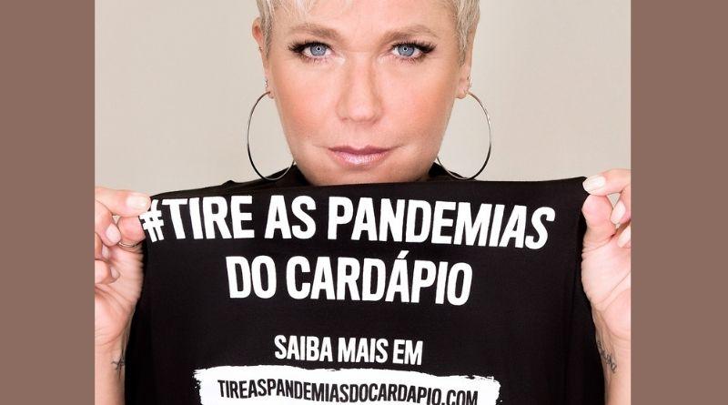 Xuxa é madrinha de campanha que doará alimentos à base de vegetais no Brasil