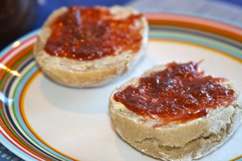 Frallor med marmelad