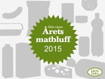 Årets matbluff 2015