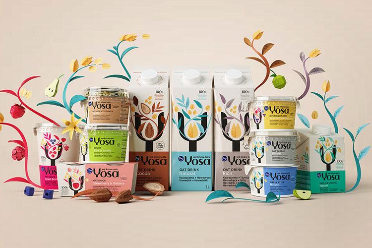 Yosa utökar sortimentet med fler havreprodukter