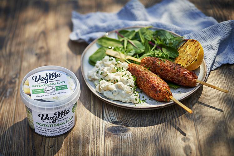 VegMe lanserar vegansk potatissallad