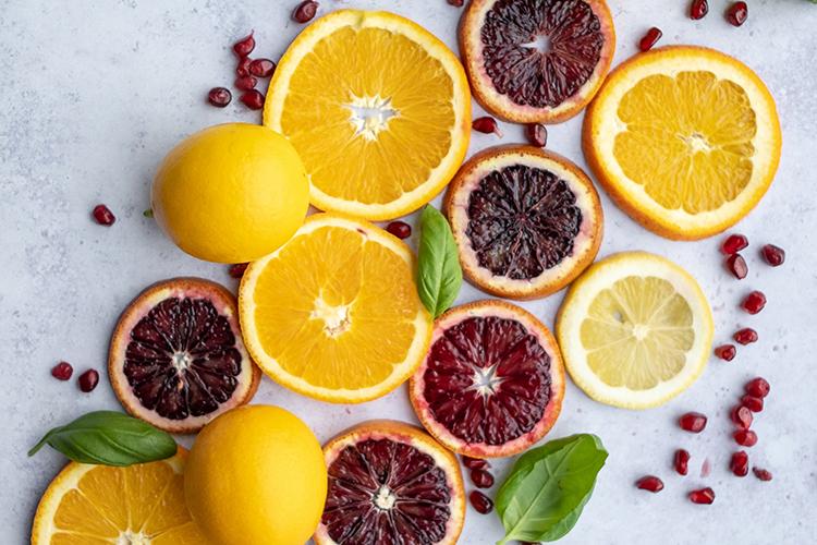 Skivade citroner