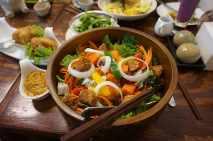 tempeh-salad-vegan-food