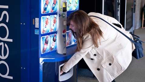 Living off vending machines
