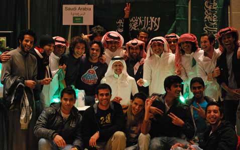 International Festival showcases students far from home