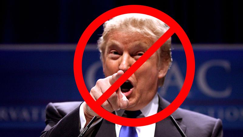 Don't Vote for Trump