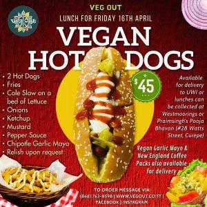 Friday 16th April Vegan Lunch