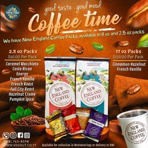 New England Coffee Packs