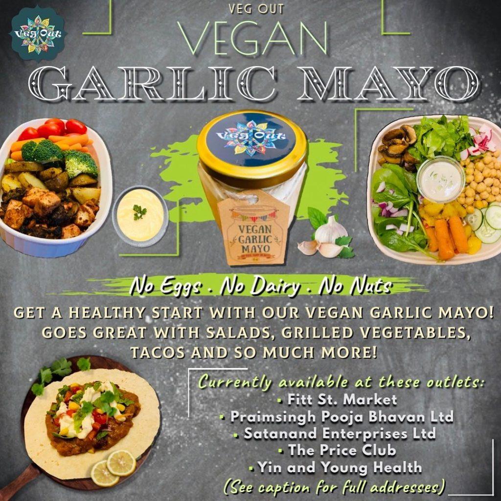 Vegan Garlic Mayo