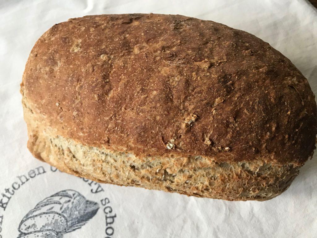 Oat and honey loaf