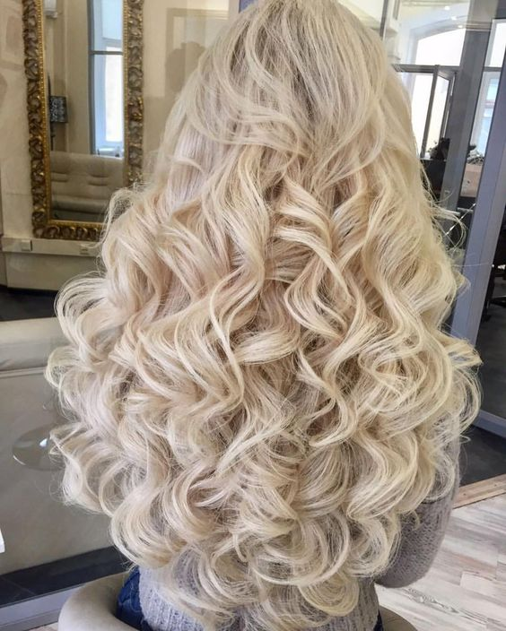 Waterfall Curl : waterfall, Trendy, Style, Curls, Waterfall, Stunning, Colour, Veguci
