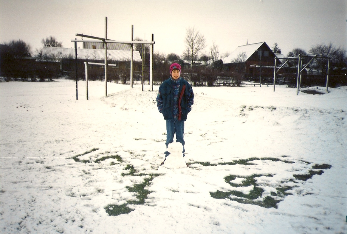 Simon e o boneco de neve
