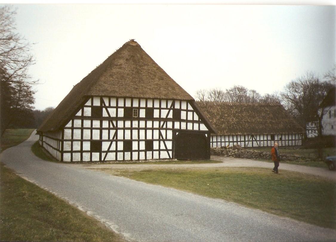 Fazenda típica dinamarquesa em Fyn