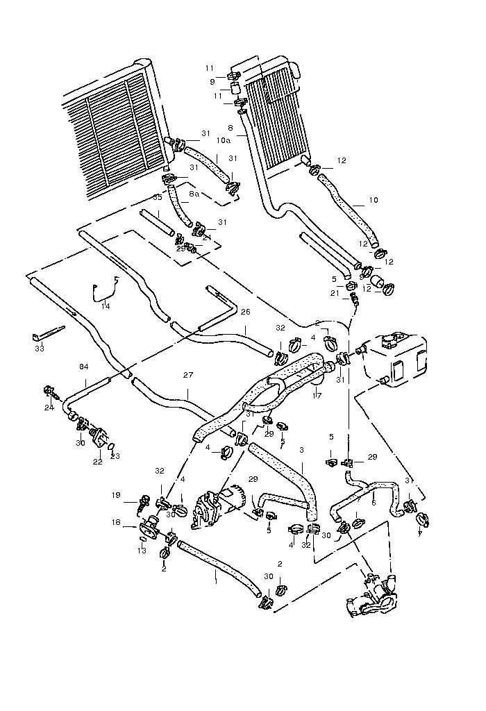 vw vanagon engine parts