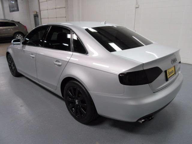 11 Audi A4 Silver AWD Tinted Windows Turbocharged Black Wheels Heated Seats