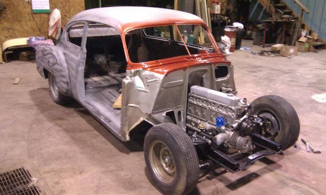 1950 Chevy Fleetline Deluxe 2 Dr Hot Rod Custom