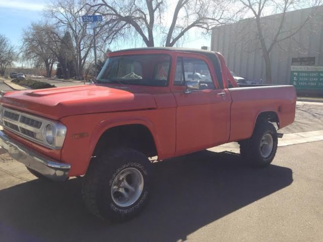 Dodge Power Wagon Steering Photo 9616896 1971 Dodge Power Wagon