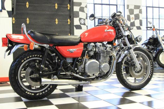 Kawasaki Kz900 Ltd A Rare And Classic Vintage Z
