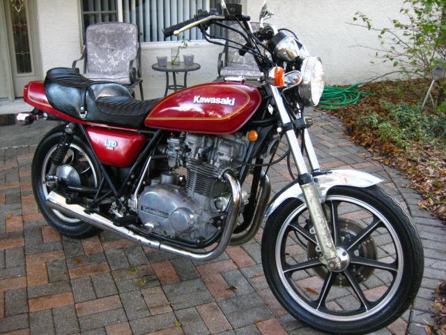 Kawasaki Kz 750 T Ltd Original Low Miles Barn Find No
