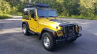 2001 Jeep Wrangler TJ 4x4 A/C Roof Rack Super Clean Body