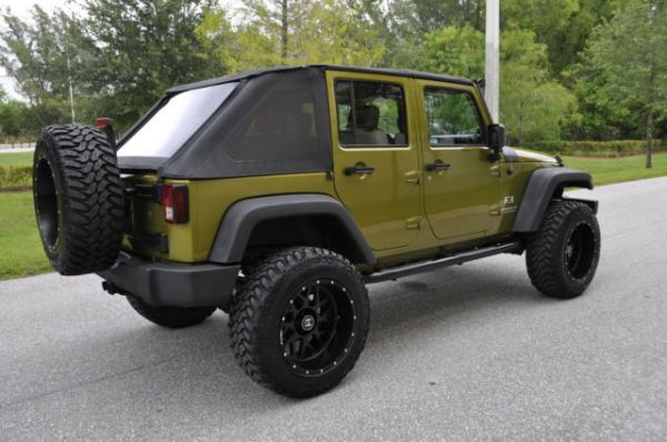 Jeep Wrangler 4 Door Greenhtml Autos Post