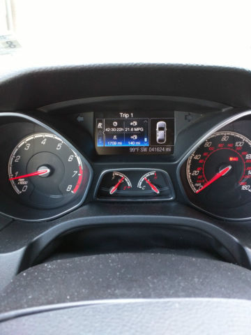 Ford Focus St Mpg : focus, Focus, Package, Sunroof, Reserve), Exhaust,