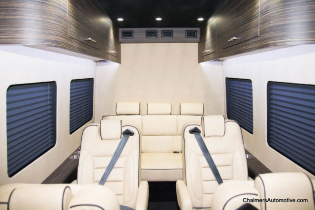 tan leather sofa gray sectional sofas brand new, one of a kind 2015 ford transit 350 custom ...